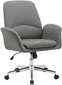 NOVIGO Upholstered Home Office Chair with Comfy Back Support for Conference Room