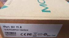 MOXA VPORT 351 V1.0 1-Channel MPEG4/MJPEG Industrial Video Encoder with 24 VDC
