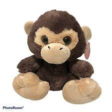 """Aurora Taddle Toes Monkey Chuchee Chimpanzee Plush Stuffed Animal 9"""""""
