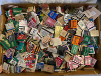Vintage Many Vegas LOT Of 400+ Cigarette Book Matches Matchbooks NEW/used