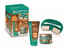 Geomar Sugar Kit Contains 1 Shower 6.8oz 1 Scrub 10.6oz 1 Masseur Body