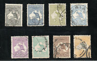 Australia - SG# 35 - 42 Used / wmk 6 Narrow Crown   -     Lot 0720164