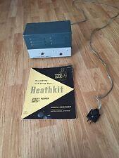 Heathkit Utility Power Supply + Manual  Model UT-1 For MT-1, MR-1 Ham Radio