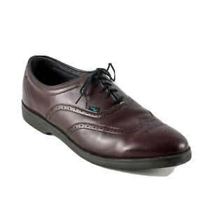Red Wing Shoes Mens Burgundy Wingtip Dress Shoes Size 13D Lace Up Oxford USA