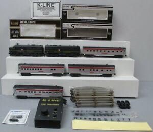 K-Line K1810A PRR The Independence Express Streamliner O Gauge Diesel Train Set