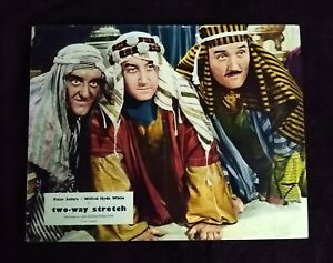 Two-Way Stretch 1960 English Lobby Card - Peter Sellers