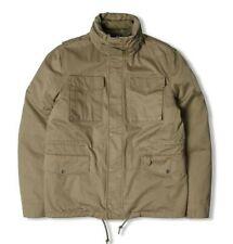 Edwin M65 Military Jacket. Khaki Vintage Washed. Small