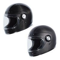 TORC T-1 T1 Carbon Retro Full Face Motorcycle Helmet T1