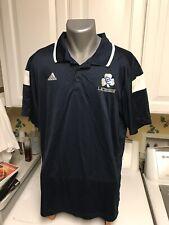 Adidas Climalite Men's Golf Polo Shirt Xl Navy Blue Cc Lacrosse Logo