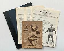 CHARLES ATLAS. Complete course in Spanish. In portfolio. Circa 1956.
