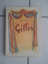 Jean Villard GILLES Poèmes et chansons 1943 illustré et numéroté