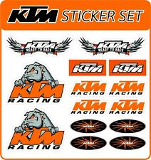 KTM moto carenado del vientre PAN Sticker Set-Pegatinas-Calcomanías