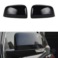 Black Wing Mirror Cover Right Left Fit Jeep Grand Cherokee Dodge Durango 2011-19