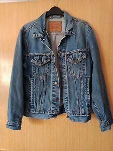 Levi's 70503 Trucker Mens Blue Denim Jacket Size Small