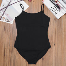 Us Women Gymnastics Ice Skating Leotard Ballet Dance Bodysuit Unitard Costumes