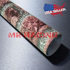 "4""x8"" SAMPLE Red Brick Stone Textured Background Wall Sticker Wallpaper BIR04"