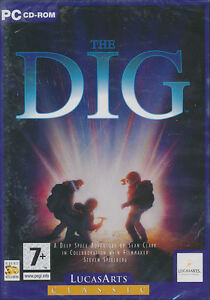 THE DIG Lucas Arts Classic PC Game Adventure Vintage Rare - NEW in DVD style BOX