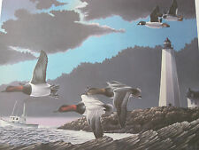 HARBOR BOUND CANVASBACKS BY KEITH MUELLER  OPEN EDITION   DECOY