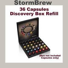 36 NESPRESSO COFFEE CAPSULES PODS, DISCOVERY BOX REFILL PACK. ESPRESSO.