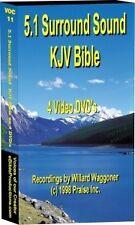 5.1 Surround Sound Audio Bible KJV (4) DVDs 75Hrs NEW