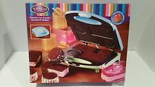 Nostalgia Electrics ICS-100 Electric Ice Cream Sandwich Maker, New