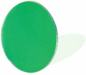 50mm Colored Filter for Spotlights - Green Dichroic Glass 1 Lens