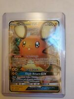 Dedenne GX 57/214 - Holo Ultra Rare - Sun & Moon: Unbroken Bonds NM Pokemon Card