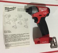 "Milwaukee M18 18V FUEL 1/4"" Hex Impact Driver ONE-KEY 2757-20 Brushless"