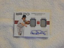 Dennis Eckersley Red Sox 2016 Pantheon Patch Auto 81/99