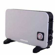 Heller 2000W Electric Panel Convection Heater Thermostat Heating/Timer Portable