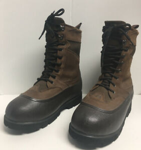 LaCrosse Alpha Iceman Thinsulated Ultra Rubber & Leather Lace Up Boot Sz 10