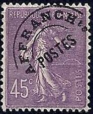 "FRANCE STAMP TIMBRE PREOBLITERE N° 46 "" SEMEUSE 45c VIOLET "" NEUF xx TTB"