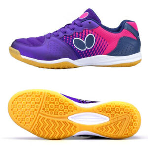 Butterfly Lezoline Vilight Table Tennis Shoes Navy Rose