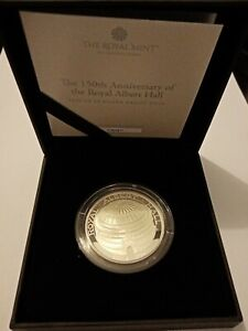 2021 Royal Mint 150th Anniversary - Royal Albert Hall £5 Silver Proof Coin