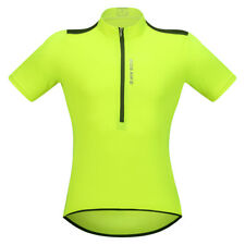 Mens Short Sleeve Cycling Jersey Bike Bicycle Anti-sweat Shirt Tops Breathable
