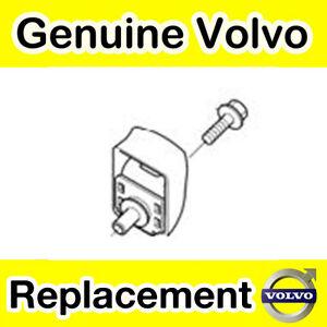 Genuine Volvo V70, XC70 (01-07) Rear Seat Back Attachment Kit (Grey/Off-Black)