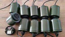 Piezo Signalgeber 10 Stück neuw. Sonalert 6 - 28 V DC Bundeswehr Alarm Gehäuse