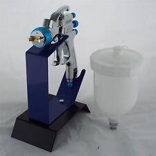 Devilbiss SLG-620 kompatible Lösungsmittel Gravity Spray Gun 1.3mm + Sitzbank Tisch Ständer