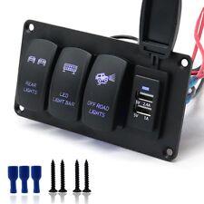 12/24V 3 Switches + REAR LIGHTS /LED LIGHT BAR/OFF-ROAD LIGHTS 3.4A Car Charger