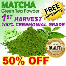 MATCHA GREEN TEA POWDER 30g ~ 100% CEREMONIAL GRADE! ~ 1ST HARVEST BEST OF JAPAN