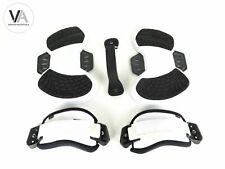 Yetikiteboarding Exlusive Pro Footpads Quick Footstraps Set+Handle schwarz/weiß