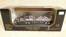 1993 Racing Champions 1:87 Premier NASCAR Dale Earnhardt Goodwrench Transporter