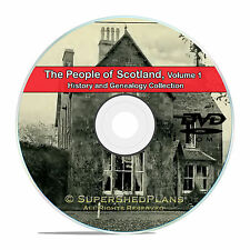 Scotland Vol 1 People Cities Family Tree History Genealogy 124 Books DVD CD B47
