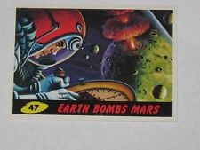 Topps Mars Attacks Trading Card 1994 Base Card NM #47 Earth Bombs Mars