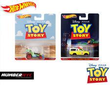 2 Hot Wheels Premium Disney Pixar Toy Story Pizza Planet Truck & RC Car