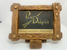 Pendelfin Rabbits Sign With Stand