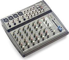 Stagg SMIX 4M4S D Mixer 10 Input DSP FX Mixing Desk Audio Sound Studio Karaoke