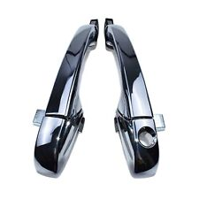 Front Left & Right Chrome Door Handle For Chrysler 300 Dodge Charger Magnum