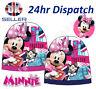 OFFICIAL Disney MINNIE MOUSE Fille Hiver Chaud Confortable Bonnet Tricot 3-8 ans