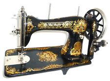 Antique vintage Seidel Naumann sewing machine Vintage attachments tools rare